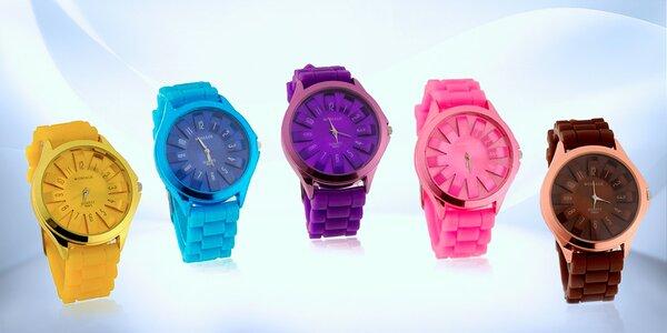 Barevné dámské hodinky značky WoMaGe