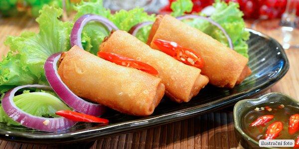 Lahodné závitky z vietnamského bistra s sebou