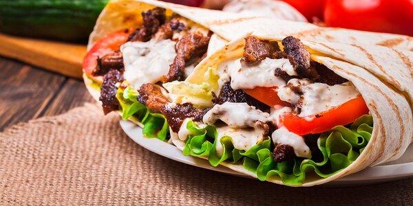2x rychlá mňamka s sebou: Dürüm kebab a nápoj