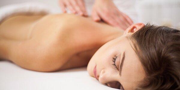 40minutová masáž pro dokonalé uvolnění