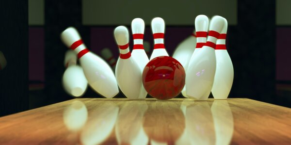 Sejměte kuželky: Hodina bowlingu až pro 6 hráčů