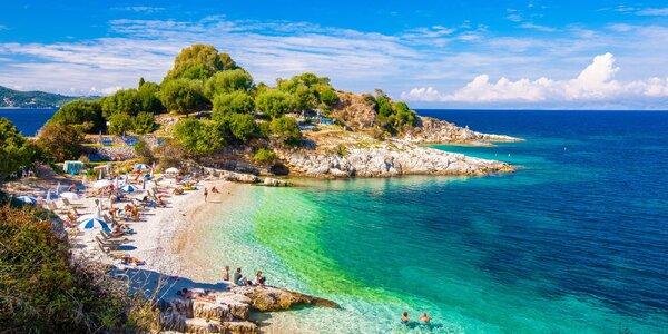 Letecky na Korfu na 11 dní s odletem z Ostravy