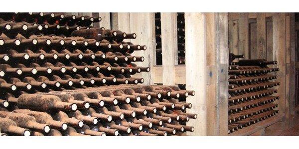 139 Kč za láhev kvalitního archivního vína. Na výběr ze 3 druhů!