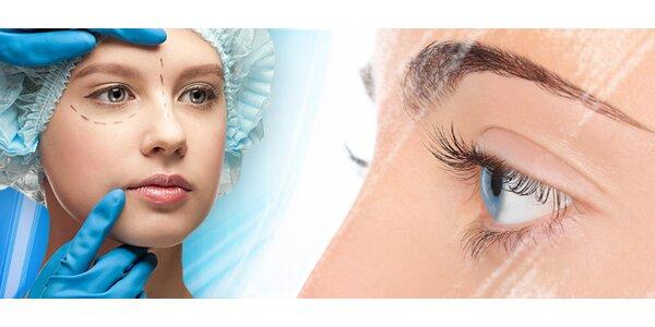 Plastika horních očních víček