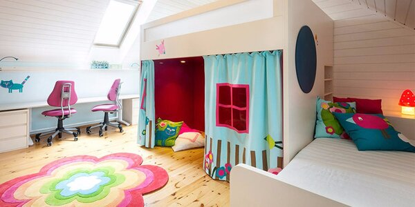 Konzultace s designérem dětských pokojů