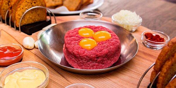 Nálož masa podle výběru pro menší partu