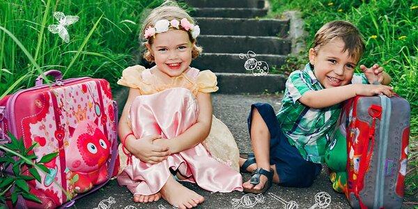 Dětské kufříky a svačinové tašky Okiedog