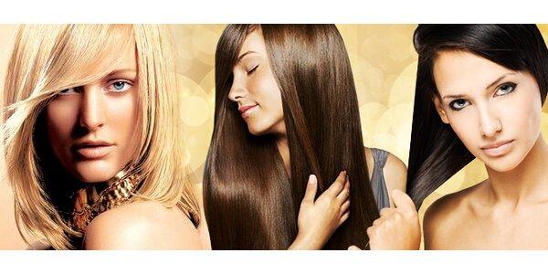 Keratinové ošetření pro krásné vlasy