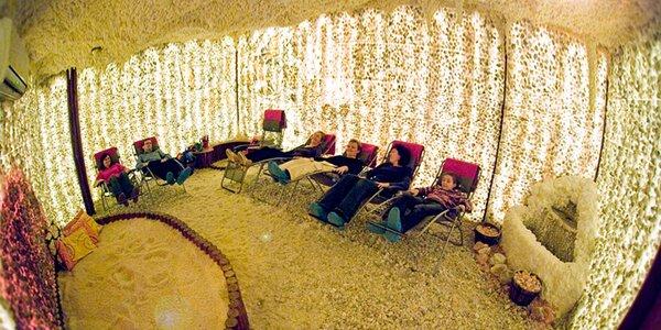 Zdraví a relaxace v solné jeskyni Solanka