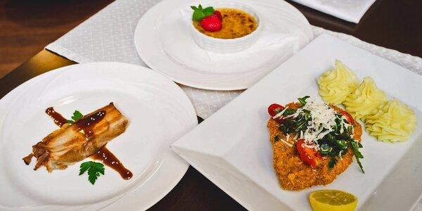 Mezinárodní degustační menu pro 2 osoby