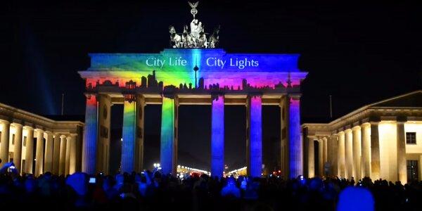 Festival světel v Berlíně s možností plavby lodí