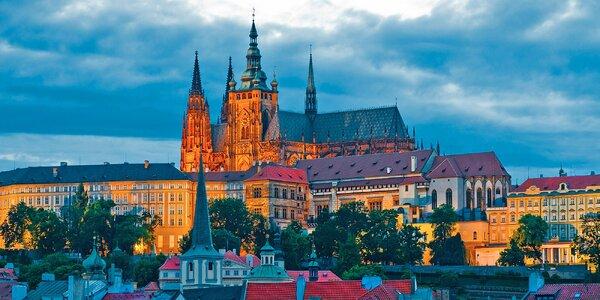 Pohodový víkend v Praze vč. polopenze pro dva
