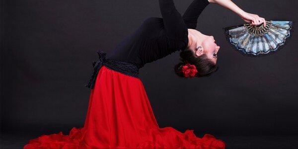 10 lekcí flamenca nebo smyslného flirt dance