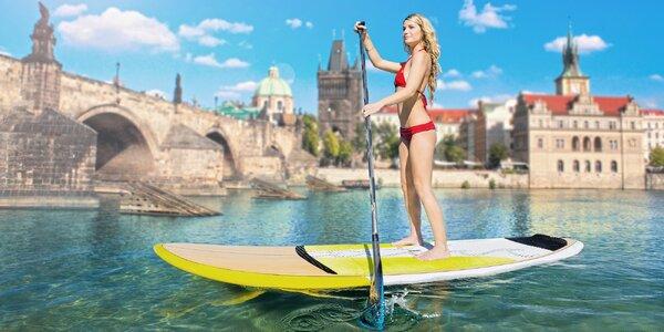 5 projížděk na paddleboardu v centru Prahy