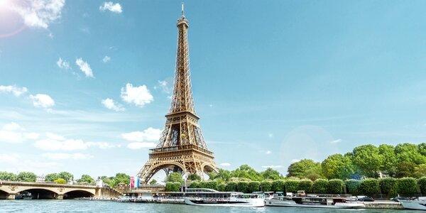Víkend v Paříži: Eiffelova věž, Notre-Dame