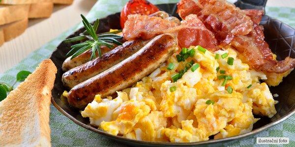 Chutné ráno: Vydatná americká snídaně s nápojem