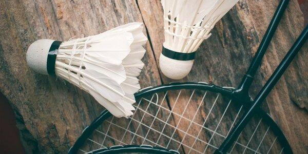 Hodina badmintonu ve Sportovním klubu Troja