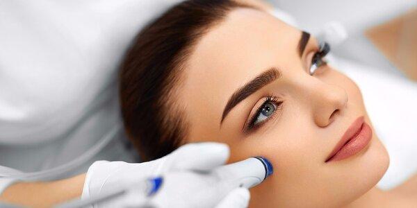 Radiofrekvenční ošetření pro lifting obličeje