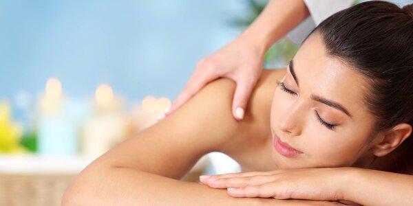 60minutová masáž dle vašeho výběru