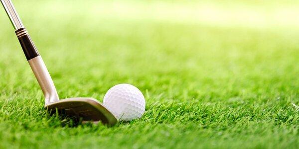 Celý den na golfu: Neomezené odpalování míčků