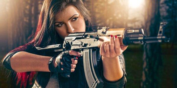Zamiřte na zážitek: Střelba z kulových zbraní