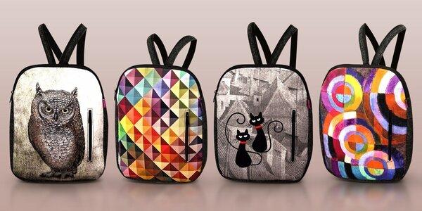 Designové batohy z recyklovaných PET lahví