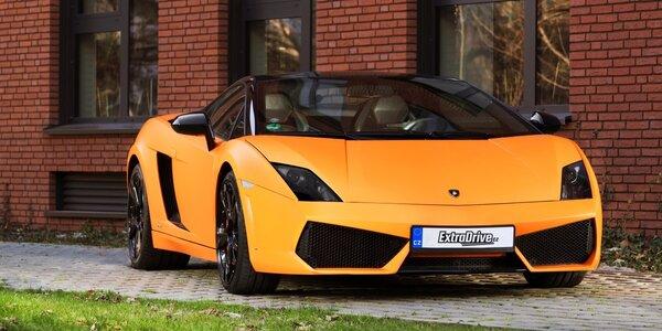 Extra jízda v nadupaném Lamborghini Gallardo