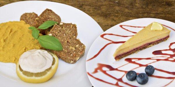 Raw menu s dezertem a smoothie nejen pro vegany