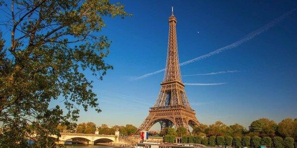 Letecký zájezd do Paříže: 3x ubytování se snídaní
