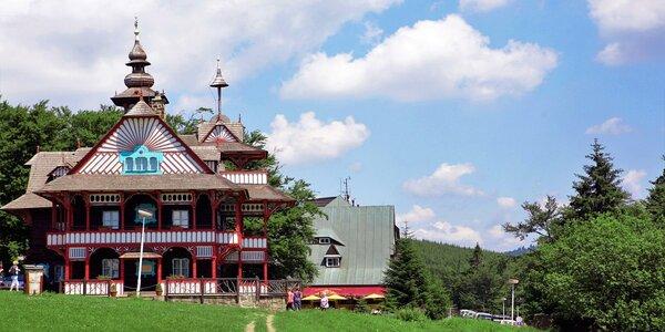 Pobyt plný turistiky s polopenzí v Beskydech