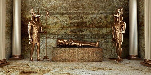 Egyptské dobrodružství: Únikovka až pro 5 hráčů