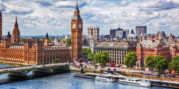 Letecký zájezd do Londýna s ubytováním v hotelu
