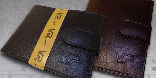 Stylové pánské peněženky MaxiM z kůže