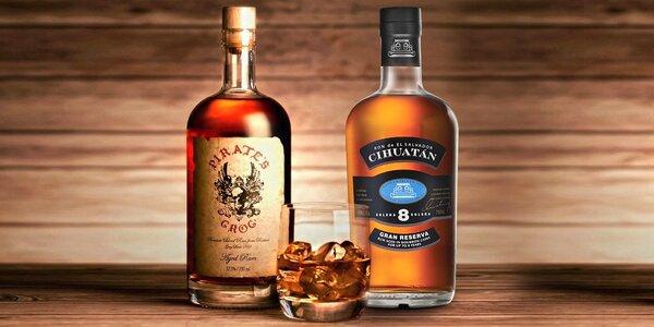 Prémiové rumy ze Střední Ameriky