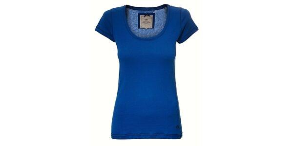 Dámské sytě modré tričko Timeout