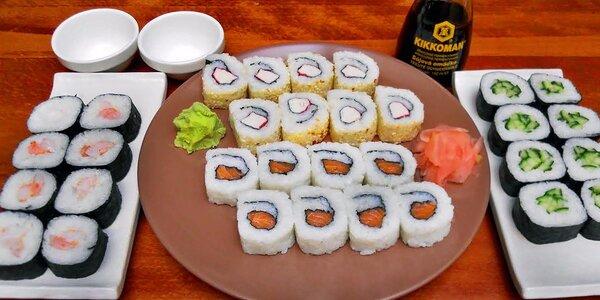 Sushi set: 32 ks asijských delikates