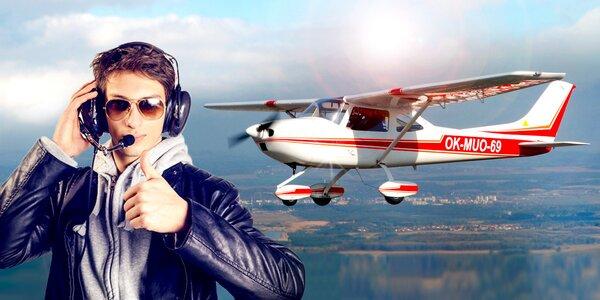 Pilotem na zkoušku a instruktáž