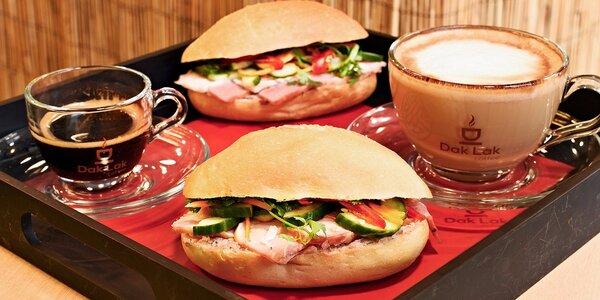 Vietnamská bagetka a voňavá káva v Tonkin Café