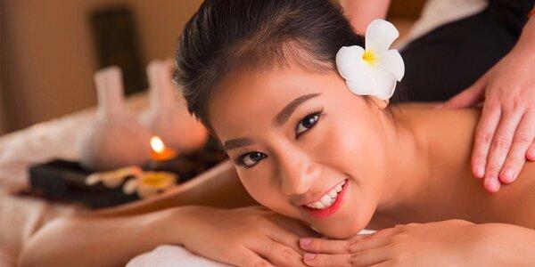 Masáže od rodilých Thajek v salonu Lotus