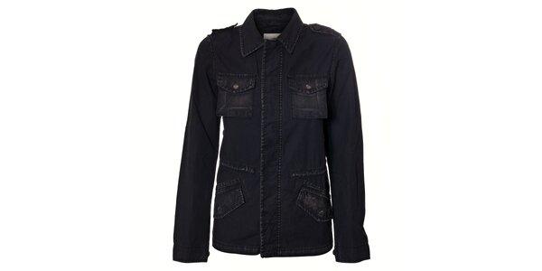 Dámský černý kabát Timeout