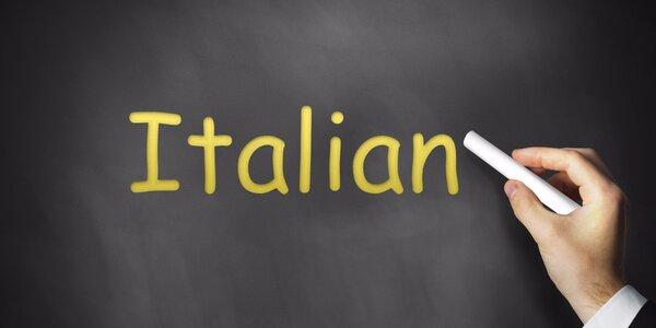 Italština hrou: Semestrální kurz pro každého