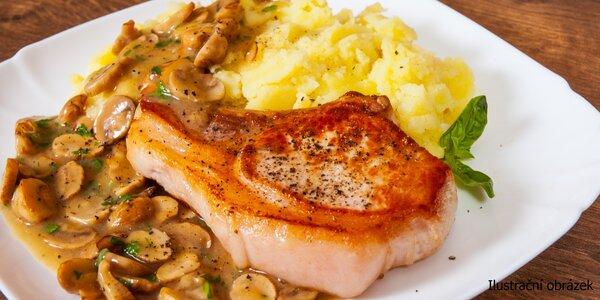 Libovolný oběd z denní nabídky vč. polévky