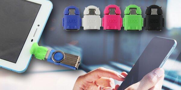 Adaptér pro připojení USB zařízení ke smartphonu