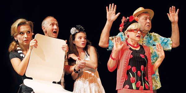 Divadelní představení 2x Woody Allen