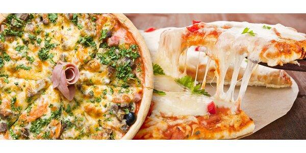 Dvě pizzy dle výběru za cenu jedné