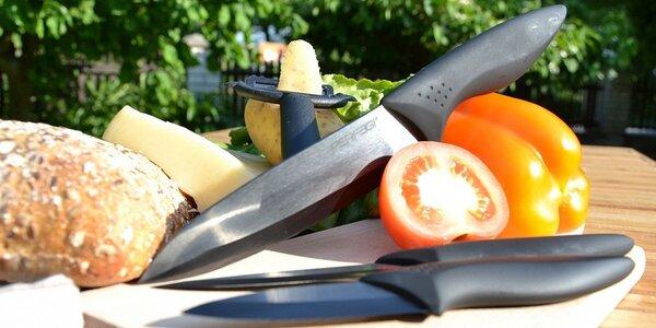 Dokonale ostré keramické nože a škrabka PERFEGI