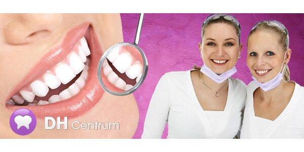 Důkladná 60minutová dentální hygiena