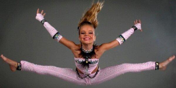 4 lekce aerobiku a současného tance pro děti