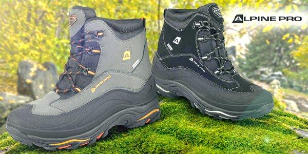 Pánské voděodolné boty Alpine Pro do terénu 813438807a