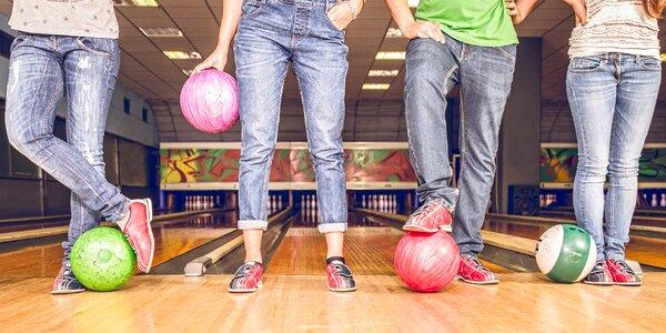Bowlingová dráha na 60 minut až pro 6 osob